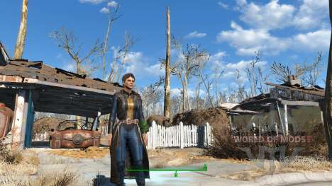 The Bad-Ass Vault Dweller Long Coat für Fallout 4