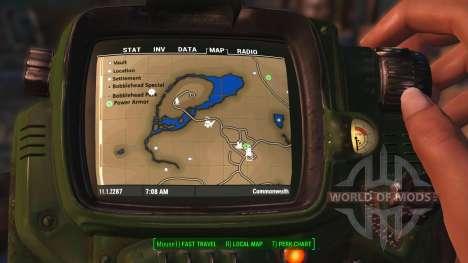 Color Karte mit Symbolen für Fallout 4