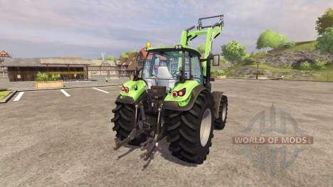 Deutz-Fahr Agrotron 6190 TTV v3.1 pour Farming Simulator 2013