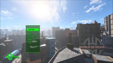 Time Lapse Main Menu Replacer für Fallout 4
