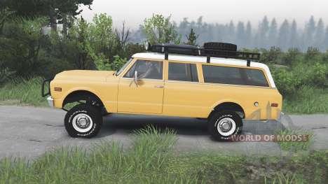 GMC Suburban 1972 [08.11.15] pour Spin Tires