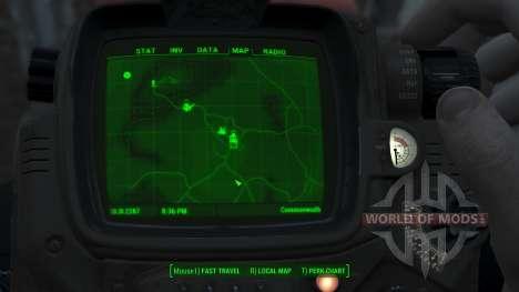 Immersive Map 4k - VANILLA - Full Squares pour Fallout 4