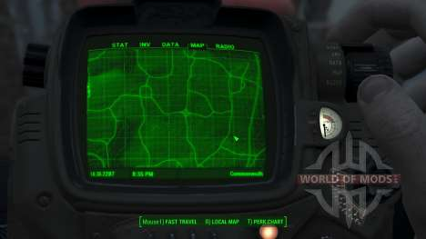 Immersive Map 4k - TERRAIN - Full Squares pour Fallout 4