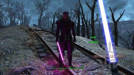 Les sabres laser de Star Wars pour Fallout 4