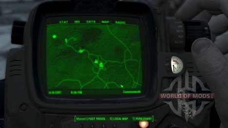 Immersive Map 4k - TERRAIN - No Squares pour Fallout 4