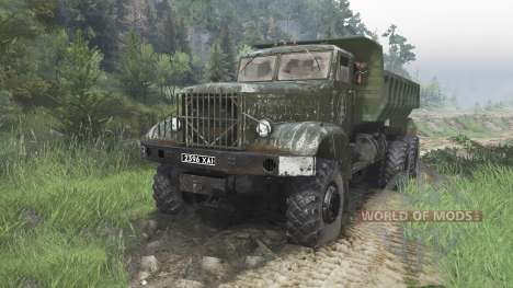 Le KrAZ-214 [08.11.15] pour Spin Tires
