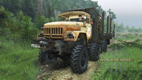 ZIL-131 Mongo [08.11.15] pour Spin Tires