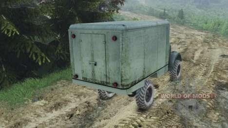 GAZ-63 [08.11.15] für Spin Tires
