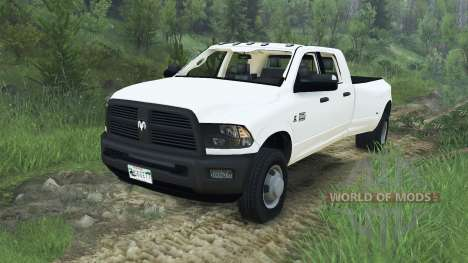 Dodge Ram 3500 dually v1.2 [08.11.15] pour Spin Tires