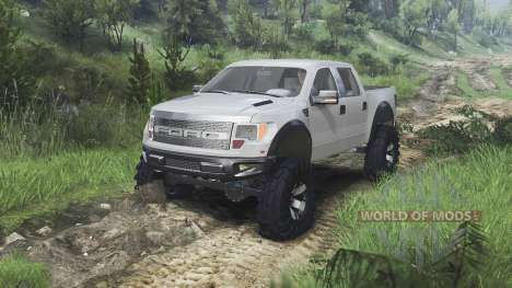 Ford Raptor SVT [08.11.15] pour Spin Tires