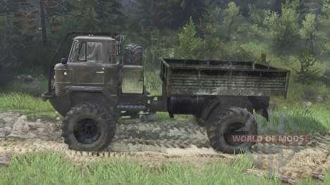 GAZ-66 [08.11.15] für Spin Tires