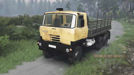 Tatra 815 S3 [yellow][08.11.15] pour Spin Tires