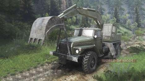 Ural-4320 avec les nouveaux chargeurs [08.11.15] pour Spin Tires
