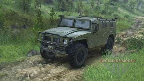 GAZ-2975 Tigre [08.11.15] pour Spin Tires