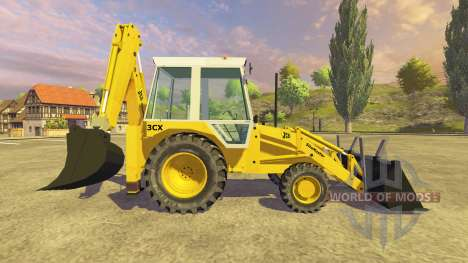 JCB 3CX v2.1 pour Farming Simulator 2013