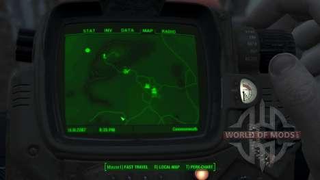 Immersive Map 4k - VANILLA - No Squares für Fallout 4