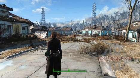 The Bad-Ass Vault Dweller Long Coat pour Fallout 4