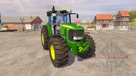 John Deere 7530 Premium v1.1 pour Farming Simulator 2013