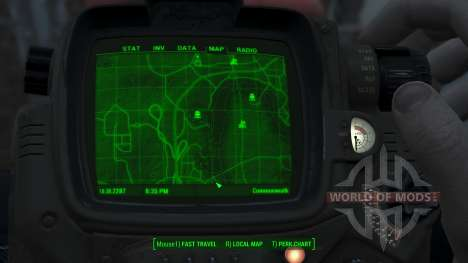 Immersive Map 4k - TERRAIN - Big Squares pour Fallout 4