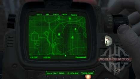 Immersive Map 4k - TERRAIN - Big Squares für Fallout 4