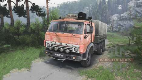 KamAZ-53212 [08.11.15] für Spin Tires