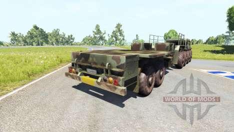 MAZ-535 mit Anhänger für BeamNG Drive