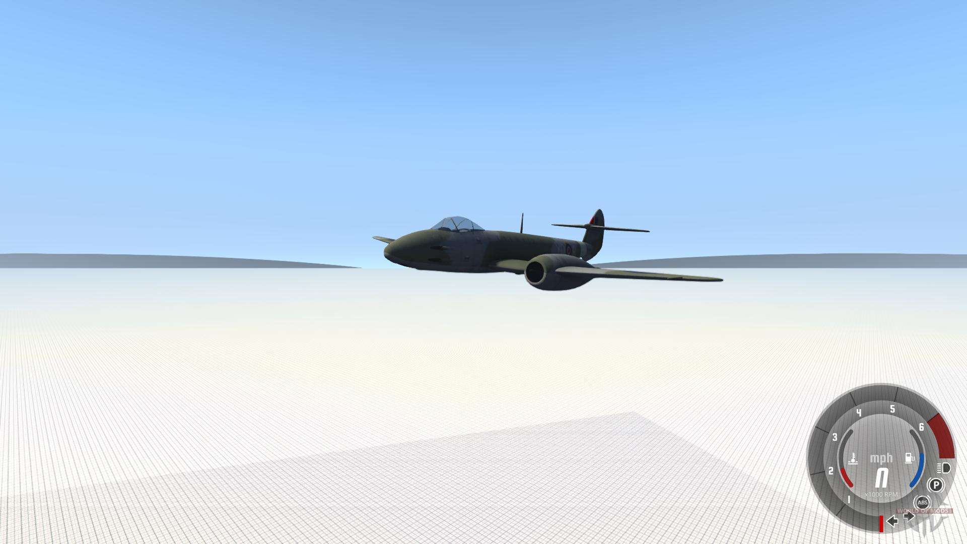 gloster meteor mk iii alpha pour beamng drive. Black Bedroom Furniture Sets. Home Design Ideas