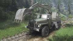 Ural-4320 mit neuen Lader [08.11.15]