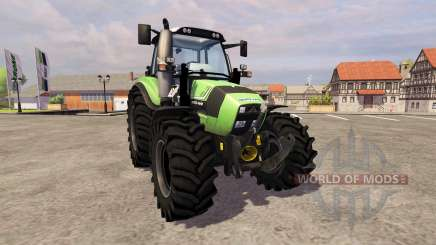 Deutz-Fahr Agrotron 430 TTV [frontloader] pour Farming Simulator 2013