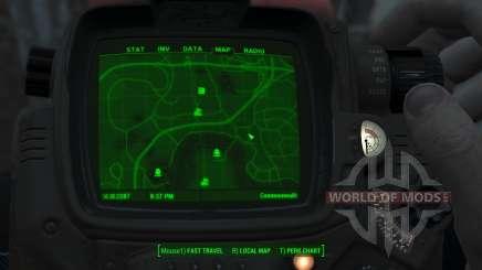 Immersive Map 4k - VANILLA - Big Squares für Fallout 4