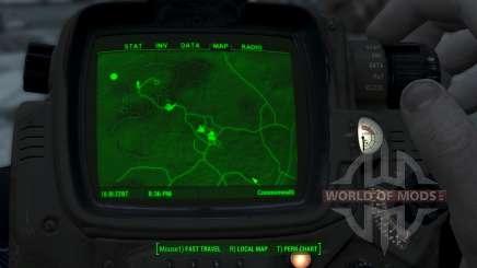 Immersive Map 4k - TERRAIN - No Squares für Fallout 4