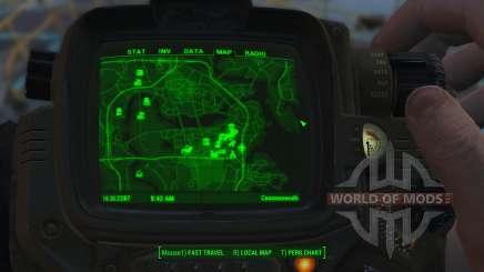 Amélioration de la carte de pour Fallout 4