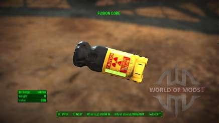 Fusion Core Retexture für Fallout 4