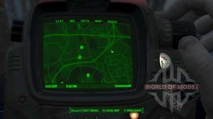 Immersive Map 4k - VANILLA - No Squares pour Fallout 4