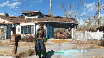 The Bad-Ass Vault Dweller Long Coat pour Fallout 4