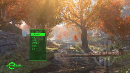Time Lapse Main Menu Replacer pour Fallout 4