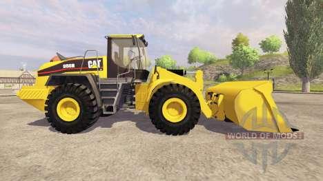 Caterpillar 966H v3.1 pour Farming Simulator 2013