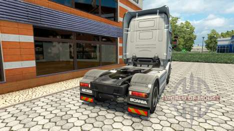 Hartmann Transporte de la peau pour Scania camio pour Euro Truck Simulator 2