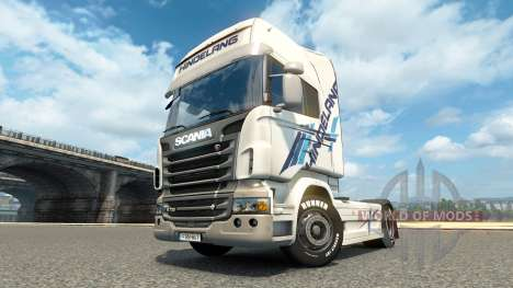 Hindelang-skin für den Scania truck für Euro Truck Simulator 2