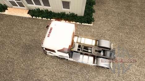 La peau Adidas pour Volvo camion pour Euro Truck Simulator 2