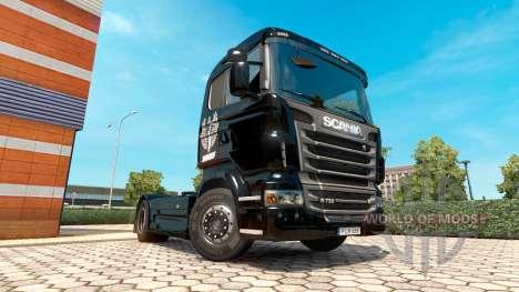 Haudegen de la peau pour Scania camion pour Euro Truck Simulator 2