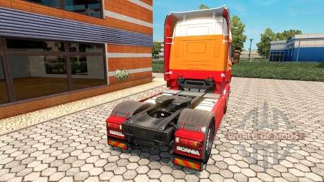 Penta-skin für den Scania truck für Euro Truck Simulator 2
