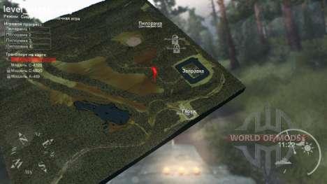 Karte von Chanty-Mansijsk die Finale version für Spin Tires