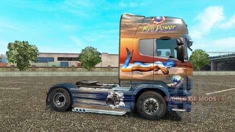 Les hommes de la Puissance de la peau pour Scani pour Euro Truck Simulator 2