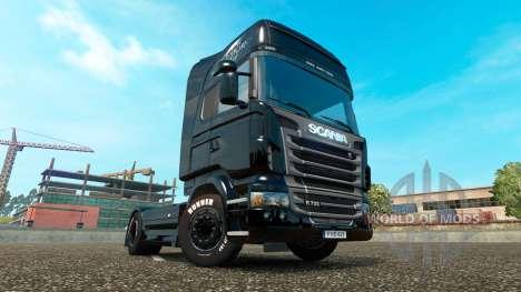 The fast and The furious 6 de la peau pour Scani pour Euro Truck Simulator 2