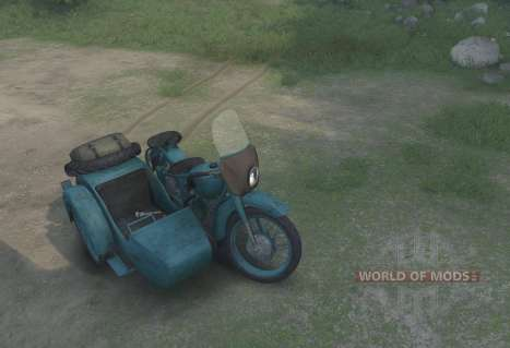 Ural M-62 für Spin Tires