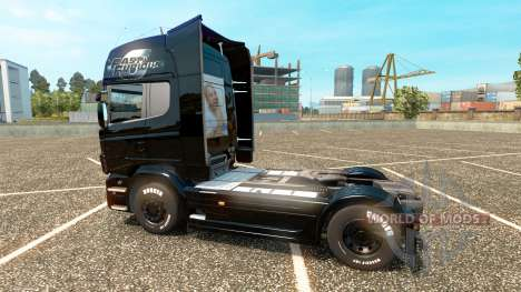 The fast and The furious 6 skin für Scania LKW für Euro Truck Simulator 2