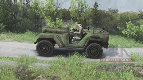 GAZ-67 [08.11.15] für Spin Tires