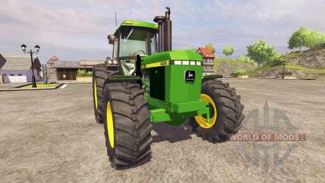 John Deere 4455 v2.1 für Farming Simulator 2013