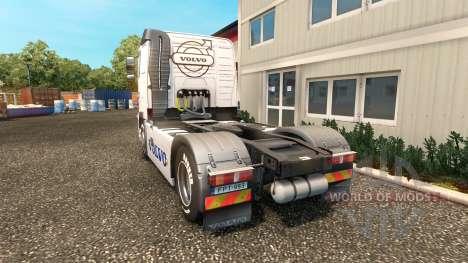 Haut Volvo Trucks Volvo trucks für Euro Truck Simulator 2